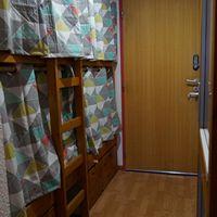 appartement à port engaly 2, l'alcove avec les rideaux fermés